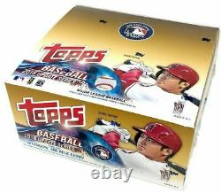 2018 Topps Update Retail 24 Pack Box From a Sealed Case