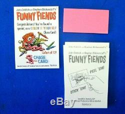 2019 Funny Fiends Trading Cards 1 Sealed Box Sidekick Ala Topps Ugly Stickers