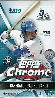 2019 Topps Chrome Baseball Hobby Box (FASC)