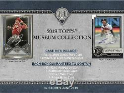 2019 Topps MUSEUM COLLECTION factory SEALED BOX