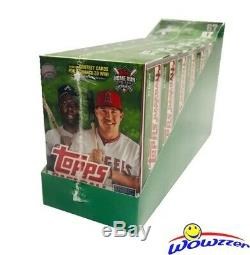 2019 Topps Series 2 Baseball EXCLUSIVE Hanger Case-8 HUGE Factory Sealed Boxes