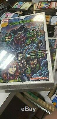 2019 Topps The Art Of TMNT Factory Sealed Trading Cards Hobby Box