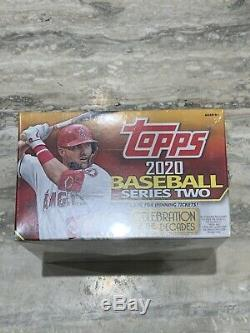 2020 TOPPS SERIES 2 Baseball-Big 24 Pack Factory sealed retail box 384 Cards
