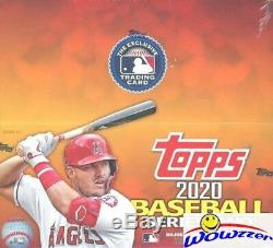 2020 Topps Series 2 Baseball MASSIVE 24 Pack Factory Sealed Retail Box-384 Cards