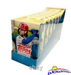 2020 Topps UPDATE Baseball EXCLUSIVE Hanger CASE-8 Factory Sealed Boxes-536 Card
