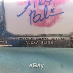 Alexa Bliss Kiss Card, The Real Deal! 11/25. Real Deal. This Price Firm