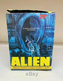 Alien Movie Photo Cards Bubble Gum Trading Card Wax Box Topps 1979