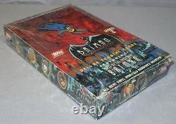BATMAN THE ANIMATED SERIES DELUXE TRADING CARDS TOPPS SERIES 2 Factory Sealed