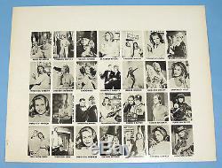 BEWITCHED Rare 1965 Topps TEST ISSUE Complete Set of 26 Elizabeth Montgomery