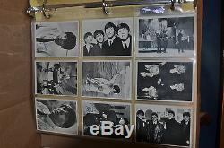 Beatles 1964 Topps Black&White 2nd Series Trading Cards -complete set of 55 -VG