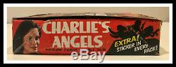Charlie's Angels trading cards series one (box of 36) mint condition