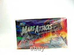 Collectible Mars Attacks Unopened Box Deluxe Trading Cards by Topps (Ca. 1994)