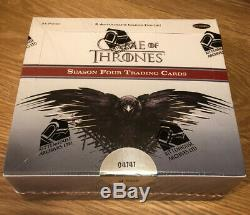 Game Of Thrones Season 4 Factory Sealed Hobby Box Of Trading Cards Rittenhouse