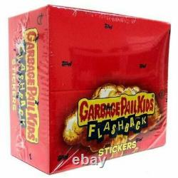 Garbage Pail Kids Flashback Series 2 Trading Card Sticker SEALED Box 24 Packs
