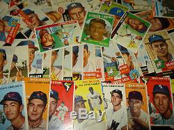 Golden Age of Baseball 1952-1959 Topps One Card Per Year 1950's ROOKIES HOF AUTO