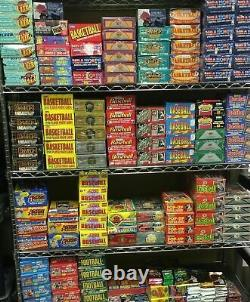HUGE LOT 300 Unopened Basketball Cards in Factory Sealed Packs of NBA Cards
