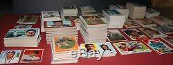 HUGE vintage sports card collection/lot baseball (1324) 1950's-1960's withSTARS