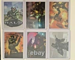 Halo XBOX Trading 10 Card 2007 Topps Master Chief Foil Card Set