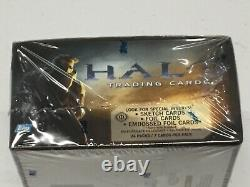 Halo XBOX Trading Cards Box 24 packs 2007 Topps Sketch Foil Embossed cards Rare