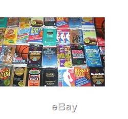 Huge Lot 100 Unopened Basketball Cards In Factory Sealed Packs Of Nba Cards