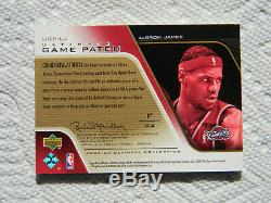 Lebron James 2004-05 Ultimate Collection Game Patch /100