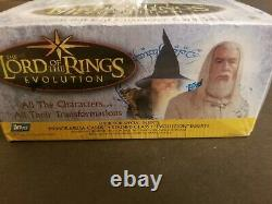 Lord Of The Rings Evolution Factory Sealed Trading Card Box Topps 2006