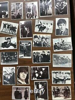 Lot Of 86 Vintage TCG Topps Beatles Trading Cards Diary Color Black & White