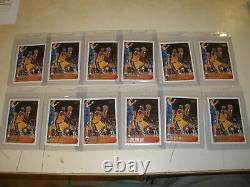 Lot of 12 1996-97 Topps Rookie Card #138 Kobe Bryant RC INVESTORS LOT