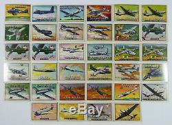Lot of 159 Vintage Topps Wings Friend Or Foe Trading Cards 1952