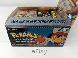 Lot of 30 Pokemon First Movie Packs Topps Box Sealed Trading Cards Packs