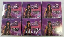 Lot of 6 Boxes 1998 Topps Xena Warrior Princess Factory Sealed Box Trading Cards