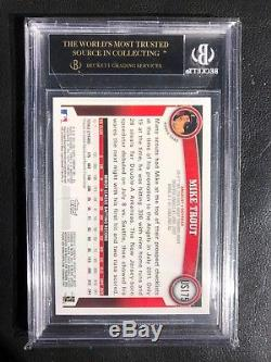 MIKE TROUT 2011 Topps Update RC BGS 10 Black Label US175 A12 QTY