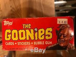 New topps 1985 the cookies trading cards box with 36 unopened packs Rare BUY