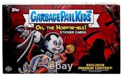 Oh, The Horror-ible Trading Sticker Card COLLECTOR'S HOBBY Box 24 Packs