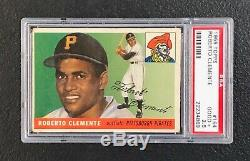 Pittsburgh Pirates Roberto Clemente 1955 Topps #164 PSA Good+ 2.5 Rookie Card Rc