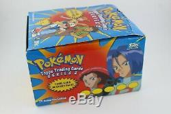 Pokemon Topps Trading Cards Series 2 36 Boosters En Su Caja Original