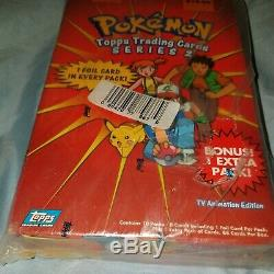 Pokemon Topps Trading Cards Series 2-tv Animation Edition. Sealed Packs New