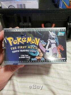 Pokemon the First Movie Topps Trading Cards Sealed Booster Box (36 Packs)