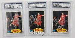 Rowdy Roddy Piper Signed 1985 Topps WWF Rookie Card #7 PSA/DNA COA RC WWE Legend