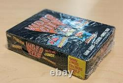 Sealed Vintage 1983 Topps Video City Arcade Trading Cards Stickers Box