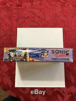 Sonic the Hedgehog Sega TOPPS 1993 Trading Cards Full 36-pack Box NEW! SEALED