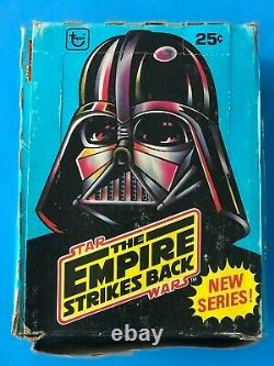 Star Wars 1980 Topps Empire Strikes Back Trading Cards Unopened 36 Wax Packs Box
