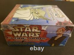 Star Wars Clone Wars Trading Cards Hobby Factory Sealed Box Topps 2004