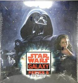 Star Wars GALAXY series 5 Hobby Box Topps Trading Cards Factory Sealed