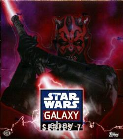 Star Wars GALAXY series 7 Hobby Box Topps Trading Cards Factory Sealed Last one