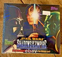 Star Wars Shadows of the Empire Premium Trading Cards