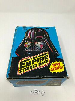 Star Wars The Empire Strikes Back 2nd Edition 36 Pack Trading Cards Box Topps B1
