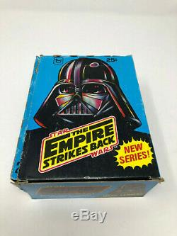 Star Wars The Empire Strikes Back 2nd Edition 36 Pack Trading Cards Box Topps B2
