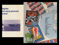 Star Wars Ultra Rare Topps 1977 Trading Cards Series Fold-out Movie Poster