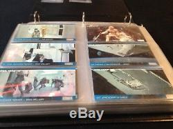 Star Wars WIDEVISION Trading Cards TOPPS + Sammelordner + PROMO Cards RARE